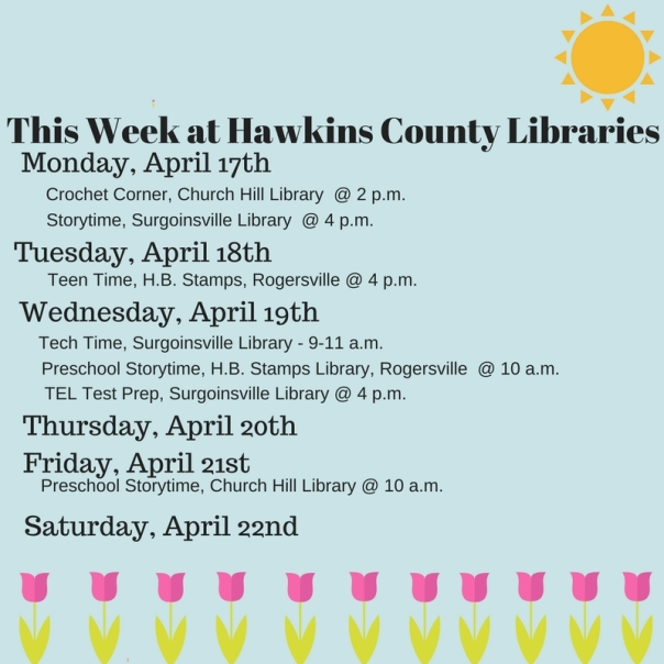 Copy of This Week at Hawkins County Libraries (3)