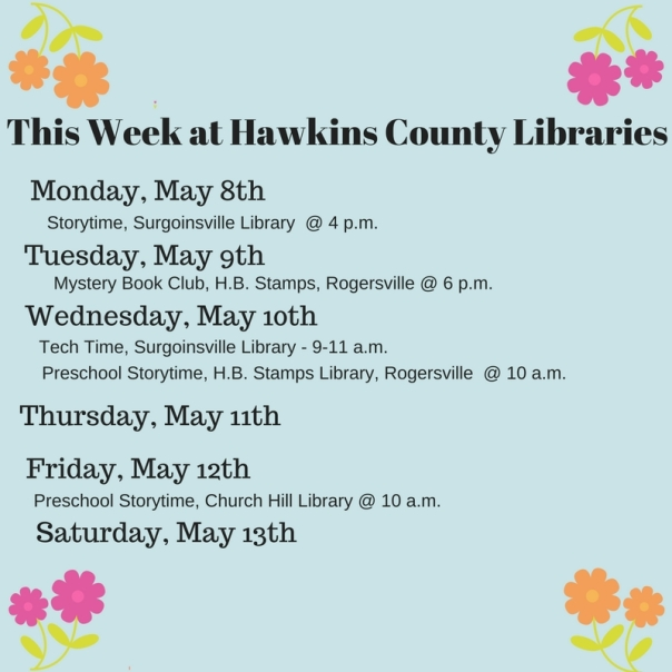 Copy of Copy of This Week at Hawkins County Libraries (1)