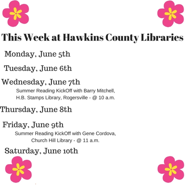 Copy of Copy of This Week at Hawkins County Libraries (4)