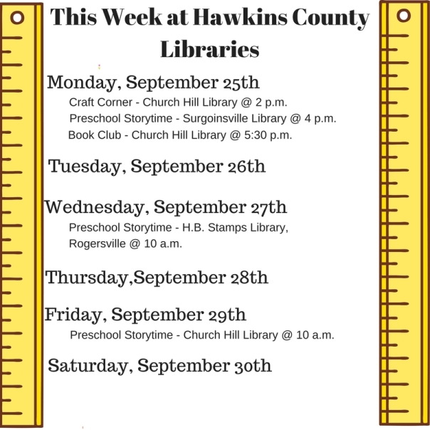 Copy of Copy of Copy of Copy of Copy of This Week at Hawkins County Libraries