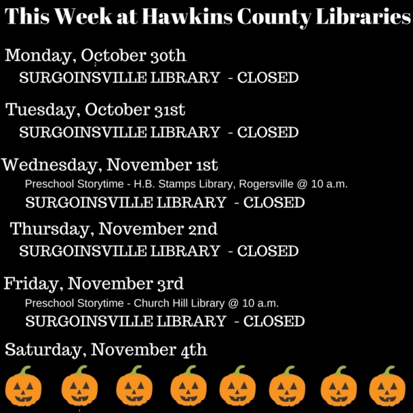 Copy of Copy of Copy of Copy of Copy of Copy of Copy of Copy of Copy of This Week at Hawkins County Libraries