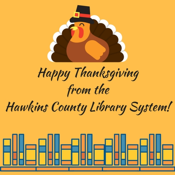 Happy Thanksgiving from Hawkins County Library System