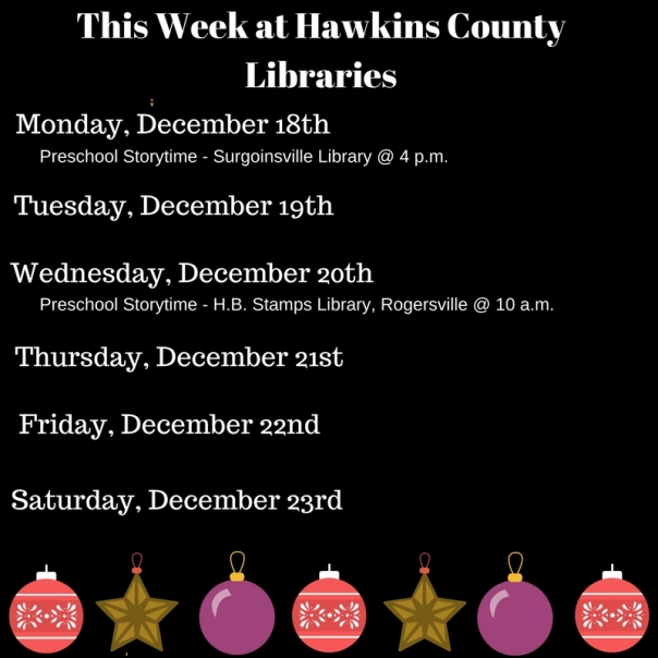 Copy of Copy of Copy of Copy of Copy of Copy of Copy of Copy of Copy of Copy of Copy of Copy of This Week at Hawkins County Libraries