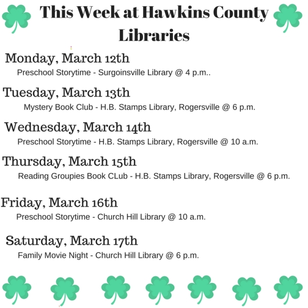 Copy of Copy of Copy of Copy of Copy of Copy of Copy of Copy of Copy of Copy of Copy of Copy of Copy of This Week at Hawkins County Libraries