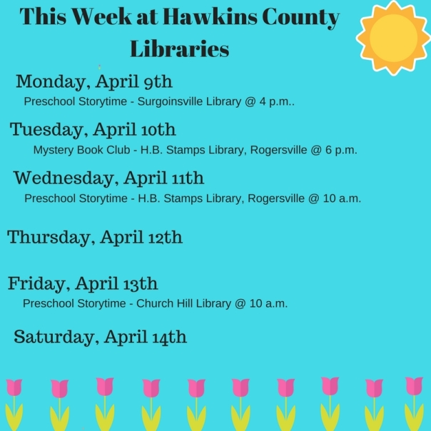 Copy of Copy of Copy of Copy of Copy of Copy of Copy of Copy of Copy of Copy of Copy of Copy of Copy of Copy of This Week at Hawkins County Libraries