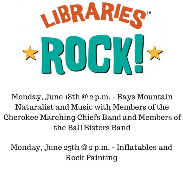Monday, June 18th @ 2 p.m. - Bays Mountain Naturalist and Musical Instruments (1)
