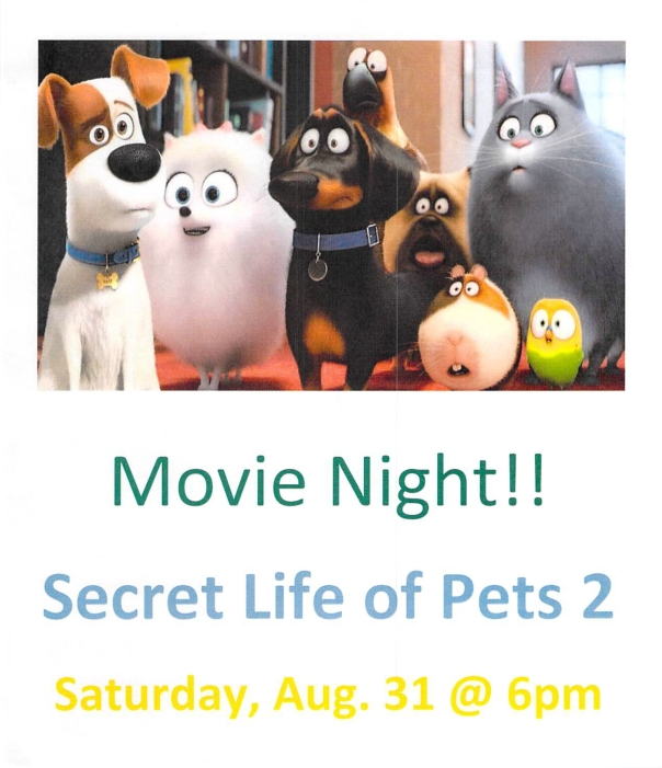 MOVIE NIGHT AUG 31